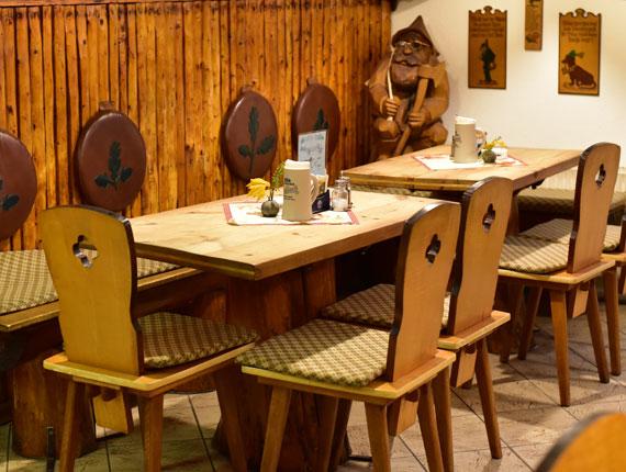 Gaststätte Holzfällerklause Gaststube