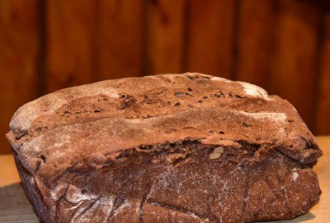 Natursauerteig Brot Walnuss